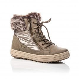 boots neige femme