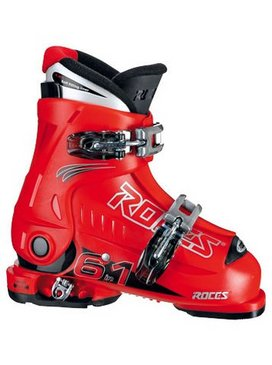 botte de ski enfant