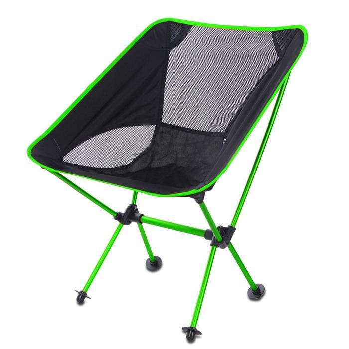 chaise pliante camping