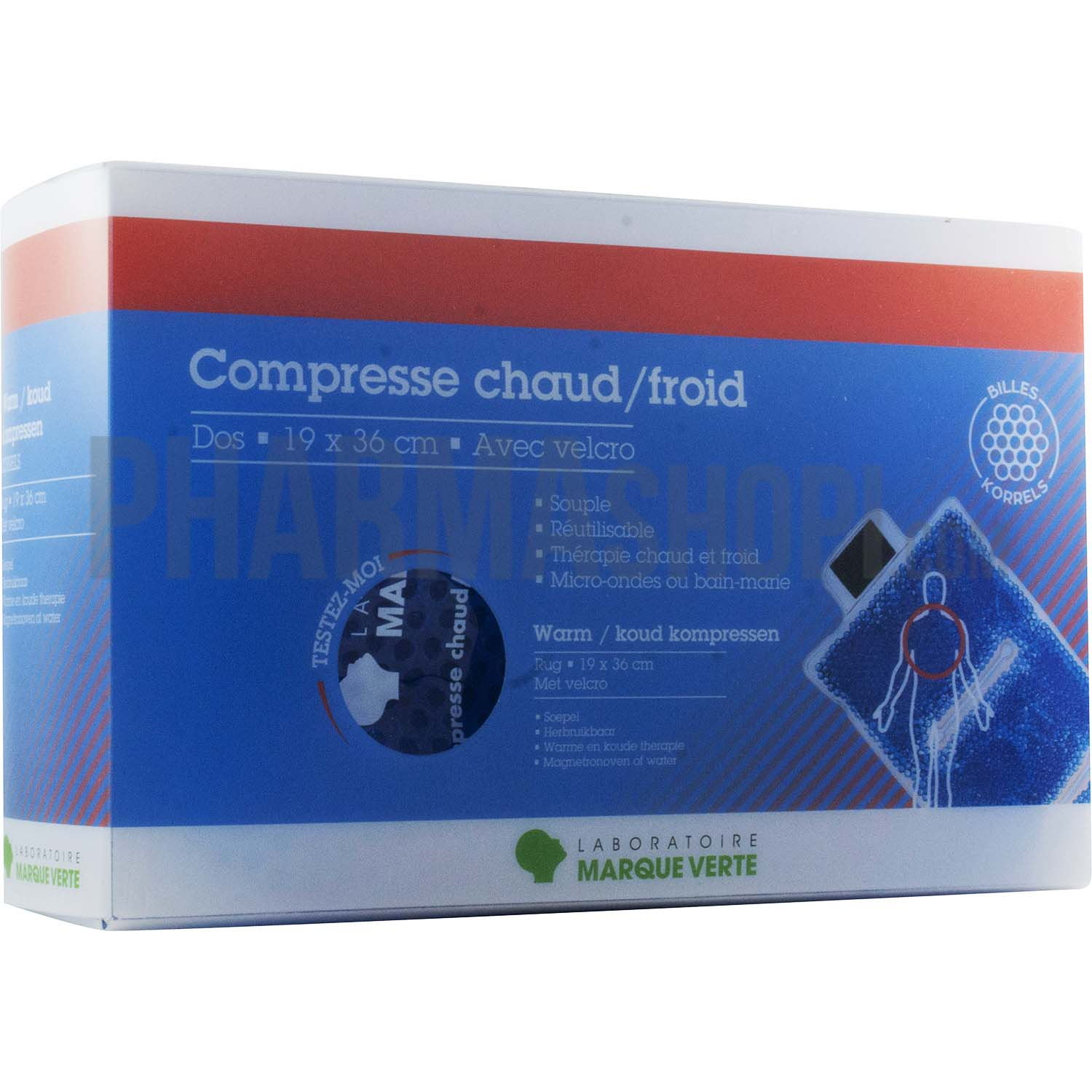 compresse chaud froid