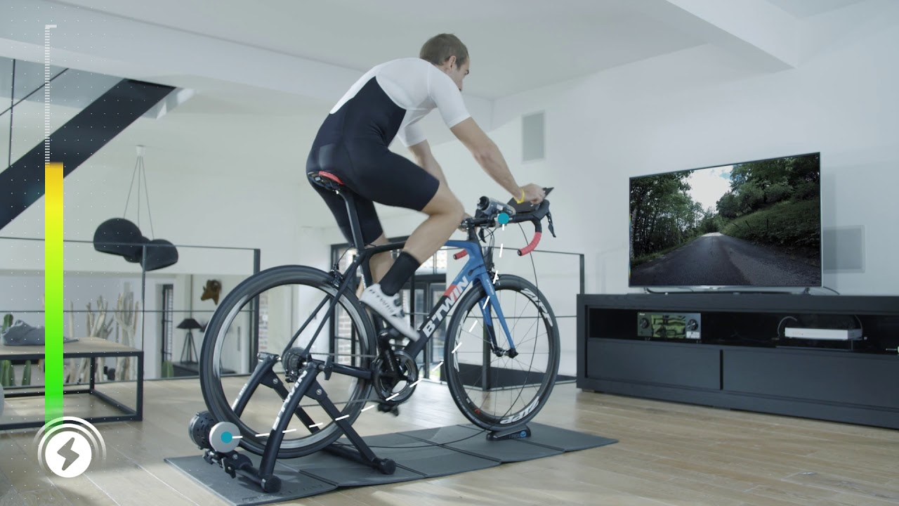 home trainer velo route