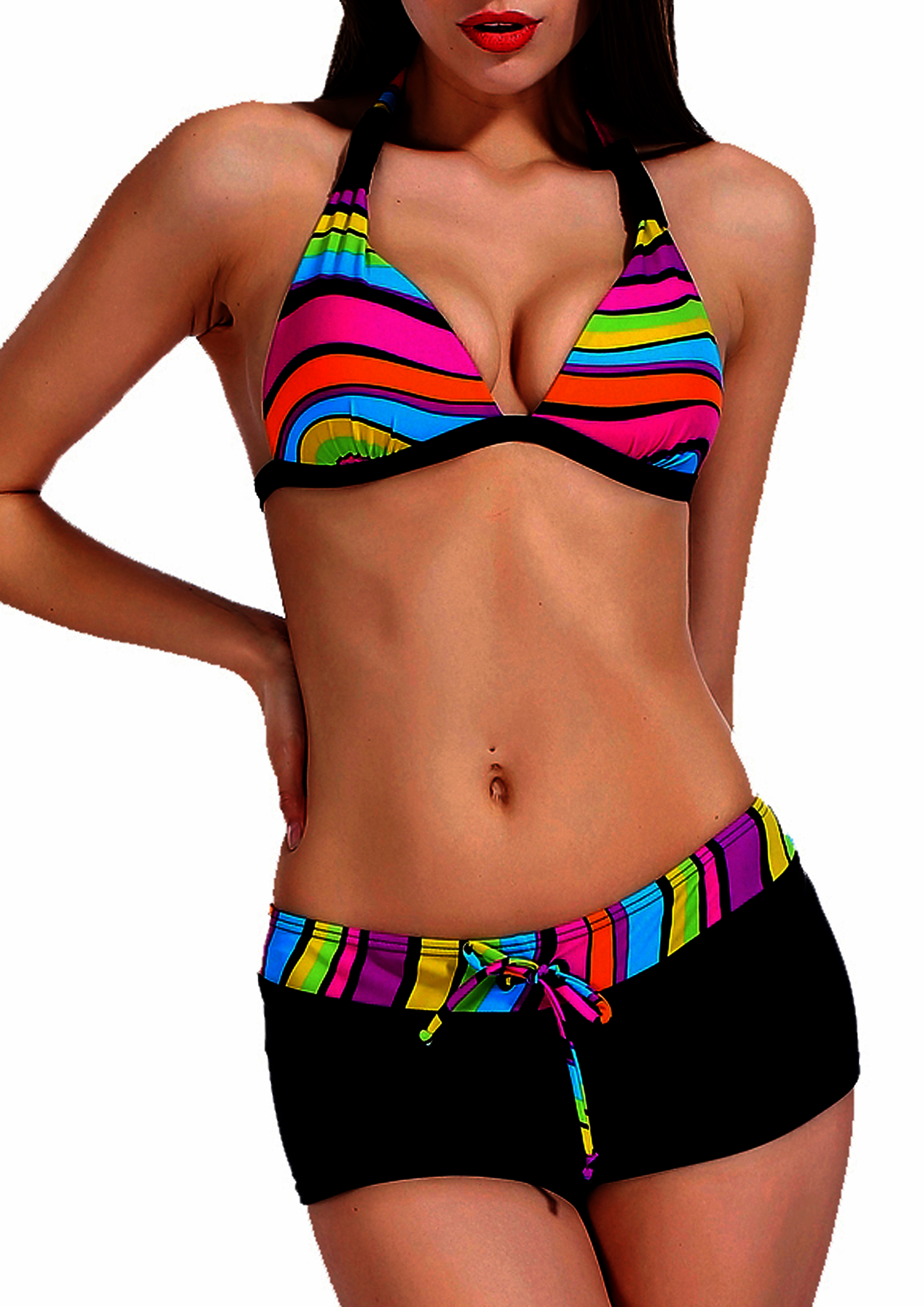 maillot shorty femme