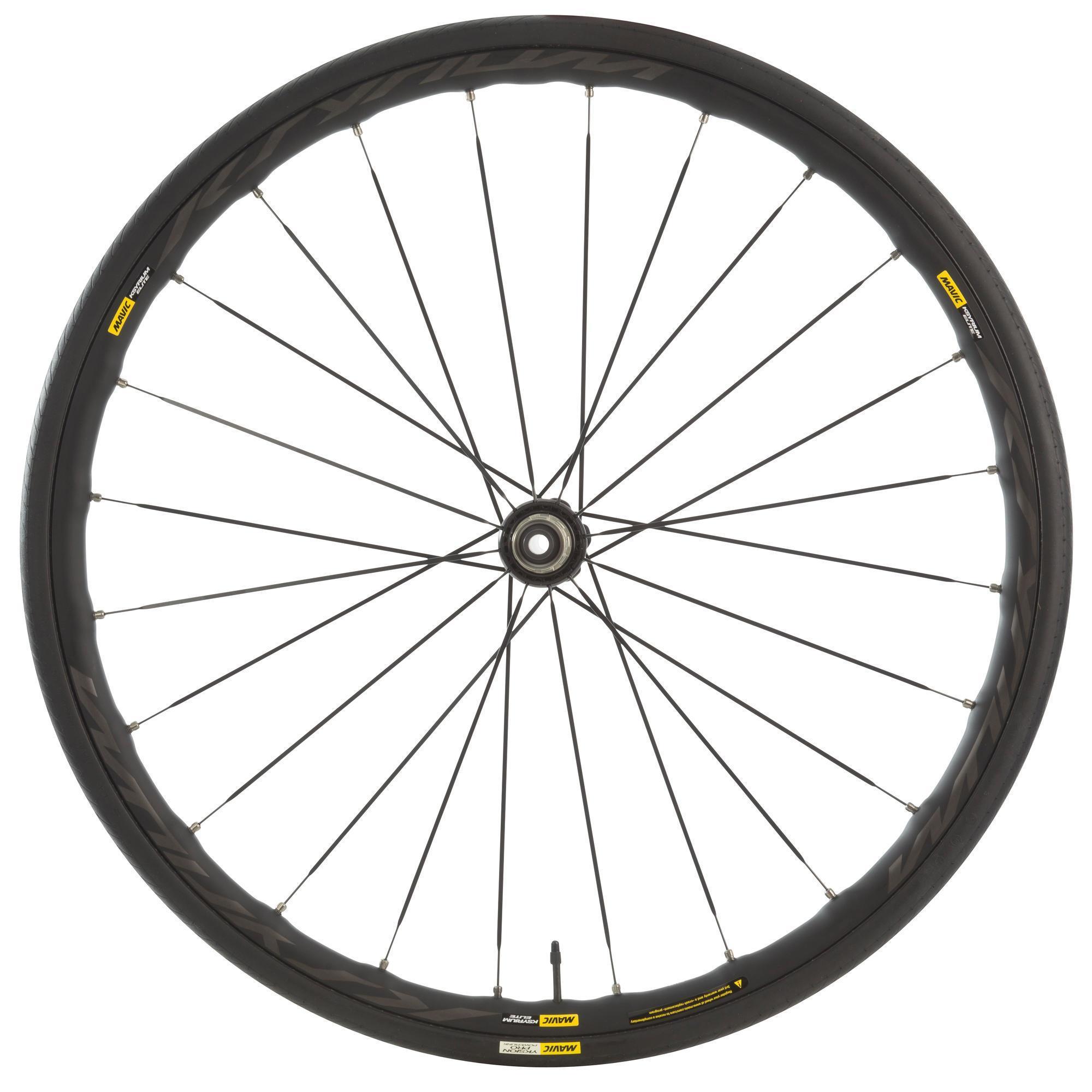 roue de vélo décathlon