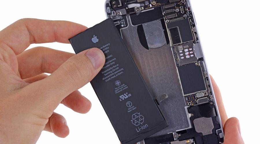 changer batterie iphone 6