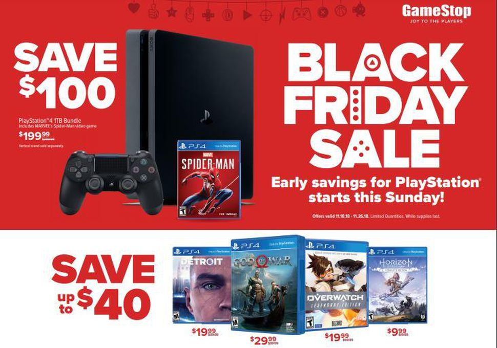 ps4 black friday