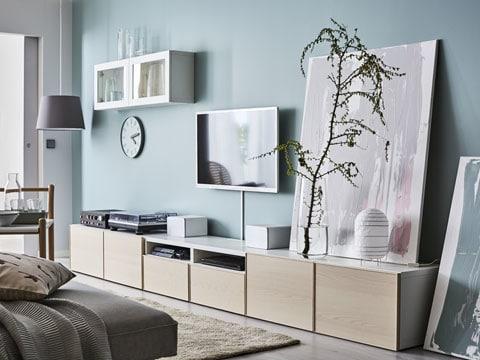 besta meuble tv