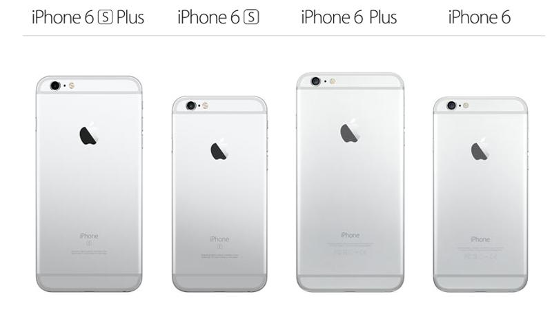 iphone 6 vs iphone 6s