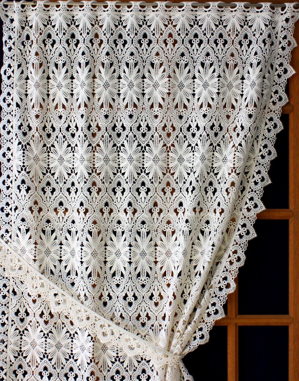 rideau à crochet