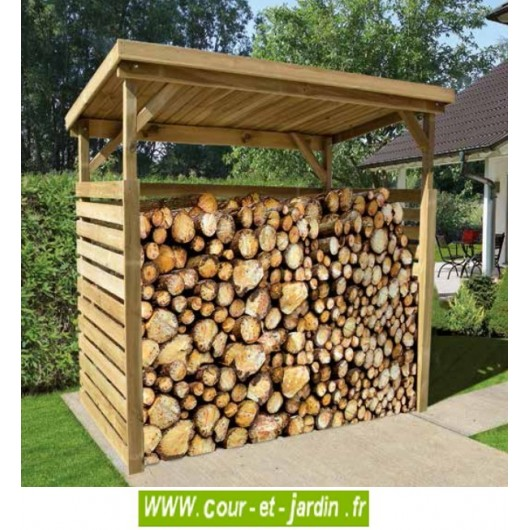 abri pour bois