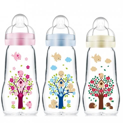 biberon naissance verre