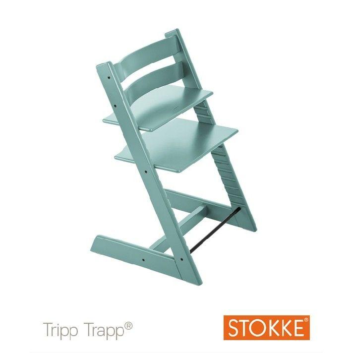 chaise tripp trapp bleu aqua