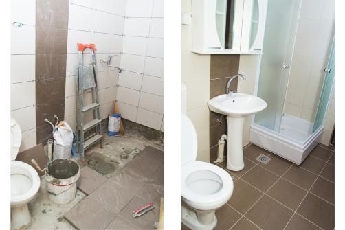 installation salle de bain