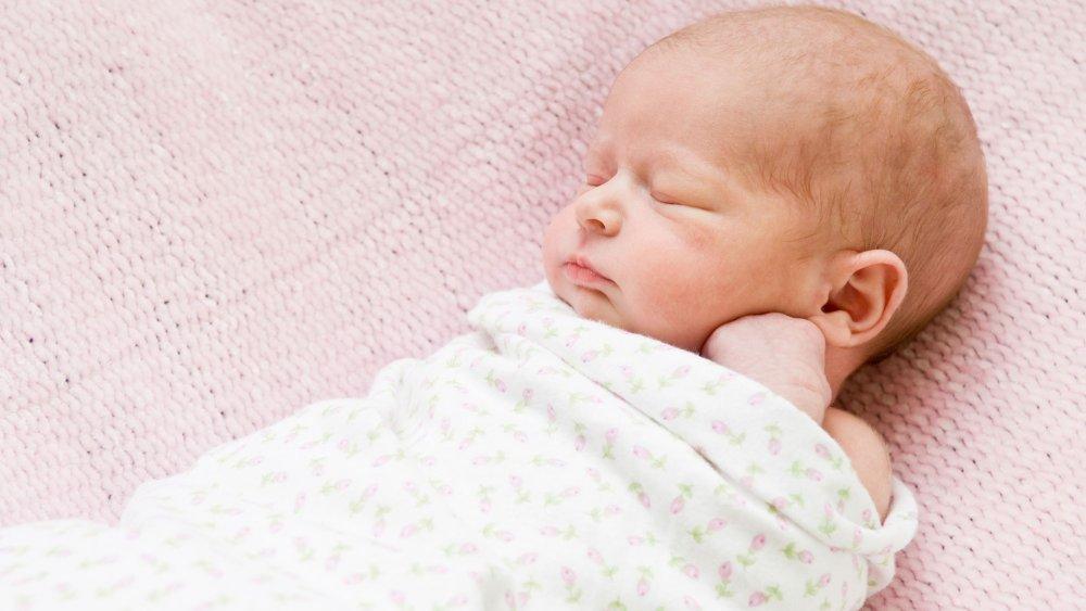 lange pour bébé en coton