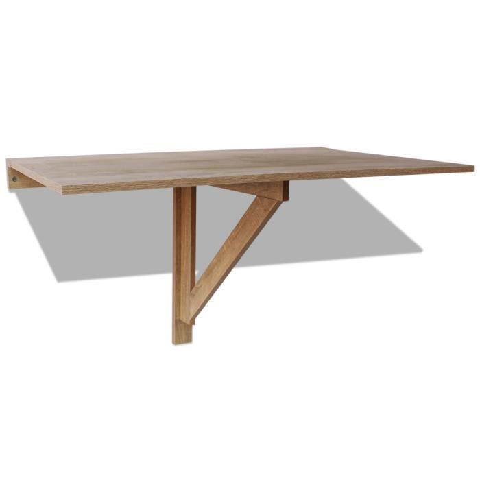 table rabattable murale